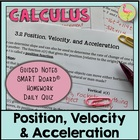 CALCULUS DIFFERENTIATION UNIT: Lesson 3 Position, Velocity