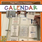 Calendar for Morning Work {Build•A•Calendar}