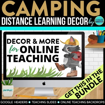 CAMPING THEME BUNDLE-classroom theme {printables)