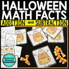 CANDY CORN FACT FAMILY TRIANGLE FLASH CARDS Common Core al