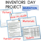 CCGPS 1ST GRADE READ/LA UNIT 2 Inventors and Inventions