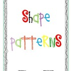 CCSS Algebra & Patterns:  Shape Patterns