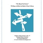 CCSS Aligned Writing Activities for Robert Frost's The Roa