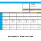 CCSS Lesson Plan Template Fifth Grade Teacher Keys All Subjects