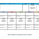 CCSS Lesson Plan Template Kindergarten All Subjects