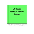 CD Case Math Centers