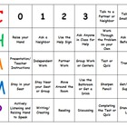 CHAMPS Behavior Expectations Classroom Management Mini Desk Chart