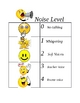 CHAMPS Happy Face Noise Level Chart