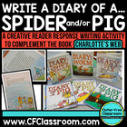 CHARLOTTE&#039;S WEB reader response {Diary of a Pig &amp; Diary of