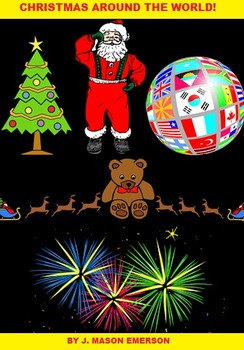 CHRISTMAS AROUND THE WORLD (80 PP, 30 NATIONS, WORD SEARCHES, CCSS ETC)