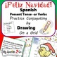 CHRISTMAS: Draw the Correct Conjugation Present Tense --ar