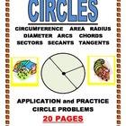 CIRCLES-ANGLES-ARCS-CHORDS-SECANTS-TANGENTS
