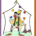 """CIRCUS DOT-TO-DOT MATH"" 1 Fun Page (Counting 1-52) Grades K--3!"
