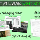 CIVIL WAR OUTCOMES (part 4 of 4) visuals, texts, graphics