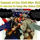 CIVIL WAR - ULTIMATE BUNDLE (PPT, comic, stick figures, Gl