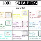 &quot;CLASSROOM BINGO&quot; 3D Shapes Bingo! Class Set!
