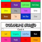 &quot;CLASSROOM BINGO&quot; Colours Bingo! Class Set!