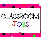 CLASSROOM JOBS POSTERS