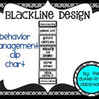 CLIP CHART Behavior Management System {Blackline Design}