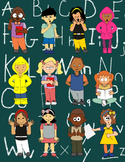 CLIPART FOR TEACHERS * 12 KID CHARACTERS