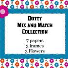 CLip art ~ Dotty Mix and Match Collection