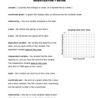 CMP2 - Variables and Patterns - Investigation 1 Notes
