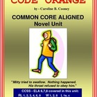 CODE ORANGE Novel Study