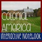 Social Studies Interactive Notebook -COLONIAL AMERICA- Wit