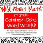 COMMON CORE MATH - Vocabulary Word Wall Kit