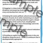 COMMON CORE STANDARDS The Seven Guiding Principles for the