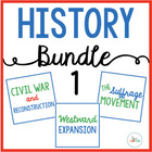 COMPLETE History Bundle {Civil War through September 11}