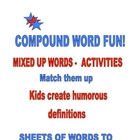 COMPOUND WORDS FUN ACTIVITIES