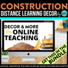 CONSTRUCTION THEME CLIP CHART / BEHAVIOR PLAN-classroom th