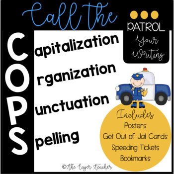 COPS Capitalization, Organization, Punctuation, Spelling (