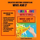 CREATIVE WRITING LESSON PLAN #2      Who Am I?