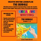 CREATIVE WRITING LESSON PLAN #4     The Quiggle