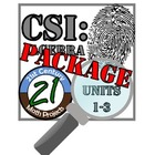 CSI: Algebra 1 -- STEM Project -- Units 1 - 3 Bundle