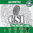 CSI: Geometry -- STEM Project -- Complete eBook