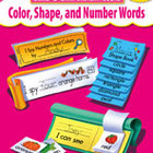 Build-a-Skill: Color, Shape,and Number Words