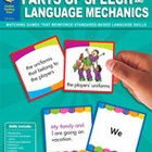 Language Games Galore: Parts of Speech and Language Mechan