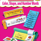Color, Shape and Number Words, Build-A-Skill Instant Books