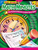 First-Grade Math Minutes (Enhanced eBook)