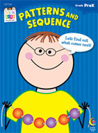 Patterns and Sequence Stick Kids Workbook: PreKindergarten