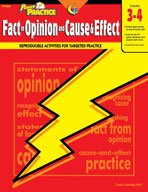 Power Practice: Fact or Opinion and Cause and Effect: Grad