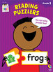 Reading Puzzlers Stick Kids Workbook: Grade 1