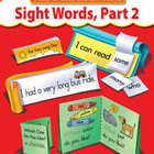 Sight Words Part 2, Build-A-Skill Instant Books (Enhanced eBook)