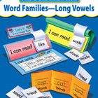 Word Families-Long Vowels, Build-A-Skill Instant Books (En