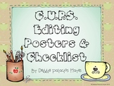 Writing: CUPS Editing Posters & Checklist