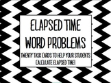 CUTE, Chevron Elapsed Time Word Problems
