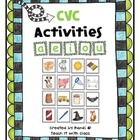 CVC Activities &amp; Picture Cards